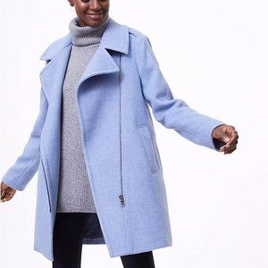 Light Blue/Periwinkle Loft PeaCoat